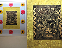printmaking altars