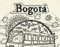 bogota postcards