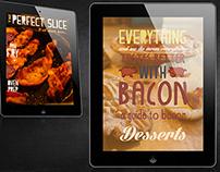 Bacon Dessert Cookbook App