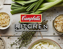 Campbell's Kitchen – Website and Mobilesite