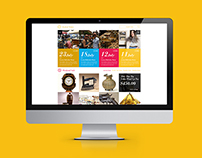 Randolph St Market Website Concept