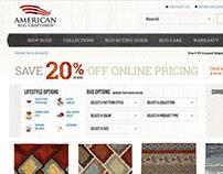 American Rug Craftsmen Website