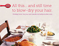 Betty Crocker Holiday Campaign Work