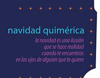 """Tarjeta de navidad para la marca """"Designio Quimérico"""""""