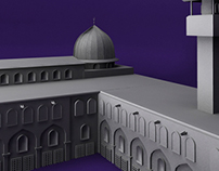 AlAqsa Mosque 3D