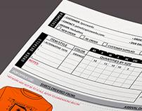 Order Form: Porkchop Screen-printing