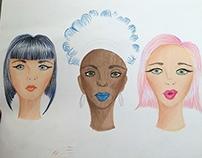 Figurín e Ilustración de Moda