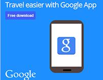 Google App Banner Advert - Taiwan