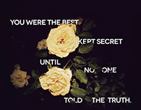 You Were The Best Kept Secret