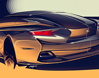 Lexus Sedan Concept + process video