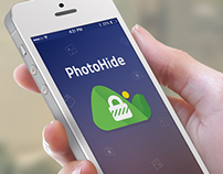 PhotoHide - iOS App UI Design