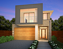 Post Process for Facade Image Renders