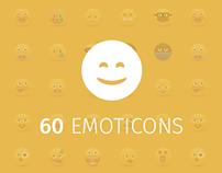 60 Emoticons