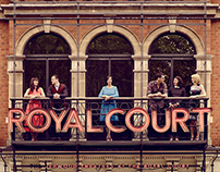 Royal Court for British Vogue by Jason Bell