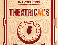 Theatrical's - branding and web design