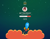 Coming Soon Launching page