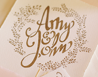 Amy & John Wedding Suite