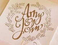 Amy & John Wedding Suite
