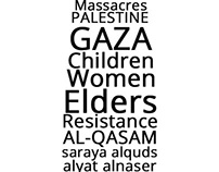 Freedom For Gaza | Typography