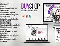BuyShop Premium Responsive Retina Magento web theme