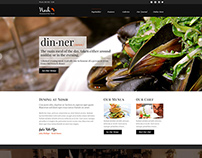Nosh - Restaurant and Bar WordPress Theme