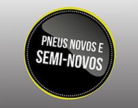 RJ Pneus - Redesign
