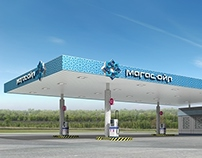 MAGAS OIL petrol station