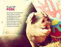 Fullscreen immersive brochure site for Holroyd Howe