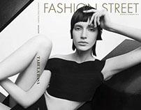 Fashion Street Magazine Set Design
