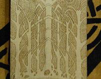 Celtic trees knotwork