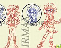Irmak Character Design..