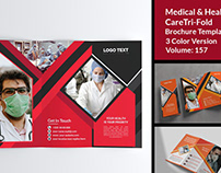 Corporate Medical Trifold Brochure