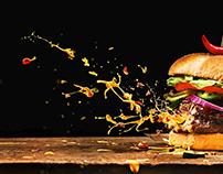 Exploding Burger