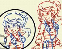 Zeyno Character Design