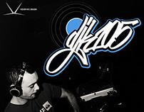 DJ K105 logo