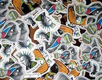 Famous Mathematician Stickers Design