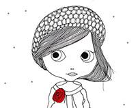 Lady Jane with bonnet