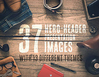 37 Hero/Header Presentation Images