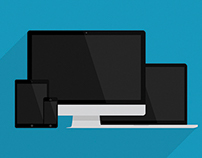 Flat Devices – Responsive Mockup Pack