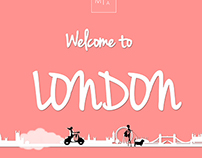 Welcome to London illustration