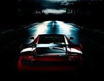 Drive me to the Moon - Lamborghini Advertisement