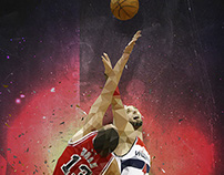 Gortat vs Noah