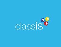 classis new brush logo