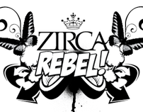 ZIRCA+REBEL 1ST ANNIVERSARY FLYER