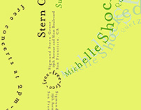 Michelle Shocked Promo Flyer