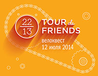 Tour de friends 2014
