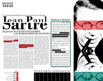Doble Página de Diario (diseño no convencional)