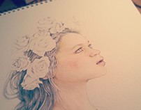ROSE: A Watercolour of Lee Hi