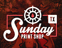 Sunday Print Shop Work