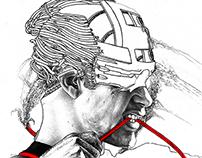 Series : Cybernetic Self Portrait / サイバー自画像